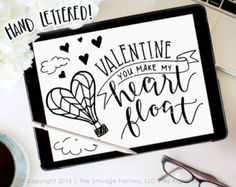 Valentine's Day SVG Cut File Queen of by TheSmudgeFactoryLLC