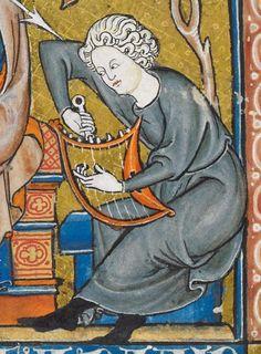 Somme le Roi c 1290-c 1300 Add MS 28162  Folio 6v Ancient Music, Medieval Music, Medieval Life, Ancient Symbols, Medieval Art, Medieval Costume, Renaissance, Medieval Manuscript, Illuminated Manuscript