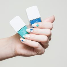 Refresh your mani with crisp, new spring shades by Formula X The Cut. #nails #Spring #beauty