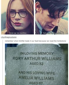 Stupid Moffat.... Moffat; hey man! Did you get emotionally attached to someone and you're not ready to let go? DEAD