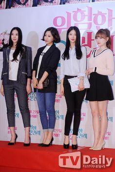Nine Muses Erin, Sungah, Minha & Keumjo