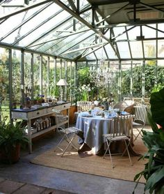 Greenhouse Farming is the process of cultivating crops and vegetable. If you have a greenhouse or are considering setting up one, then we'll share what greenhouse plants grows best inside. Home Greenhouse, Greenhouse Interiors, Greenhouse Ideas, Cheap Greenhouse, Greenhouse Wedding, Portable Greenhouse, Greenhouse Plants, Patio Plants, Orangerie Extension