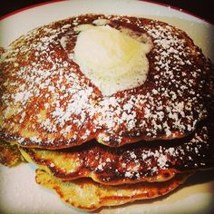 Carrot Cake Pancakes make us happy. So does the news about the new #FOUNDINGFARMERS coming to #TysonsCorner in Spring 2014!!!!  #carrotcake #pancakes