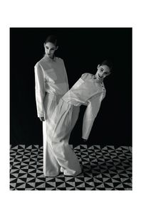 Twin Fantasies | Franziska Mueller, Lula Osterdahl | Viviane Sassen #photography | AnOther Magazine Fall 2012