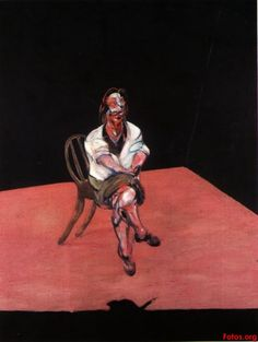 Francis Bacon - study for portrait of Isabel Rawsthorne - 78 x 56 in - 1964