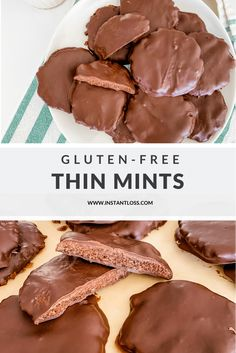 Delicious Cookie Recipes, Yummy Cookies, Dessert Recipes, Yummy Food, Tasty, New Recipes, Real Food Recipes, Thin Mints, Desert Recipes