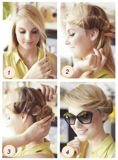 Perfectly imperfect hair roll (refinery29)