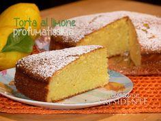Torta al limone profumatissima - La Cuoca del Presidente