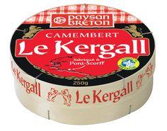 Le Camembert Le Kergall Paysan Breton