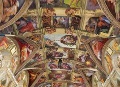 Sisten Chapel ceiling, Vatican, Rome Italy