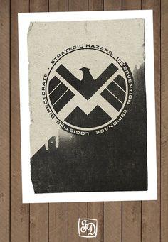 S.H.I.E.L.D Wall Art