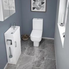 If you have a smaller bathroom then our Milan compact complete cloakroom suite is absolutely ideal. Now in stock online at Victorian Plumbing.