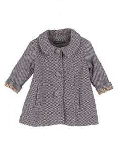 Coat with peter pan collar from Sticky Fudge (R930)