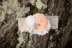 handmade garter   V.A. Photography