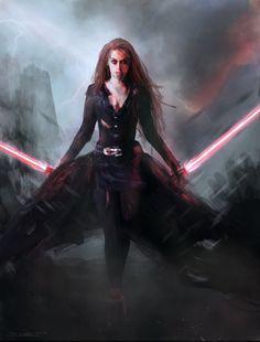 Sith Girl by tschreurs.deviantart.com on @DeviantArt