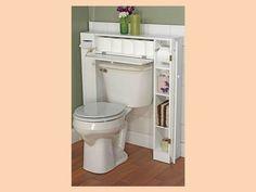#CasasAMP ¿Cómo Puedo Adaptar Un Mueble Alrededor Del W.c.? Este Práctico  Mueble Te