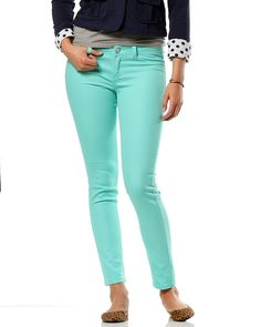 Spring into action with mint Jeggings from rue21, Heritage Mall $19.99