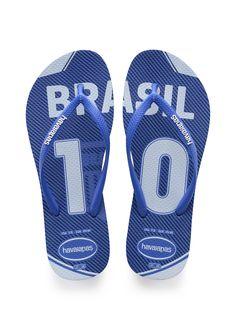 6b2e8fce46f3 Havaianas Slim Teams Sandal Blue Star Price From