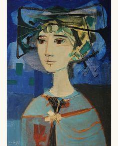 "lilithsplace: "" Woman - Leopoldo Torres Aguero (1924–1995) """