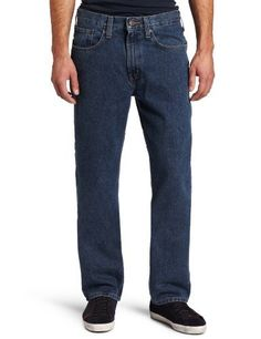 Carhartt Men's Men's Traditional Fit Straight Leg Jean Carhartt. $28.99. Straight leg openings fit over boots. 15-ounce, 100% cotton ring-spun denim. Slim seat and thighs. 100% cotton. Machine Wash