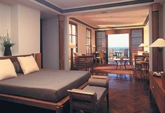 Modern Interior Design In Legian Bali - bedroom & diningroom