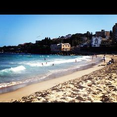 Friday afternoon at Coogee Beach, Sydney, New South Wales #Australia #travel (Photo by seesydney)