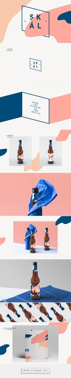 Skál Beer on Behance