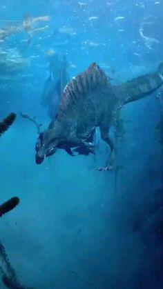 Mythical Creatures Art, Prehistoric Creatures, Ocean Creatures, Fantasy Creatures, Dinosaur Activities, Dinosaur Art, Cute Wild Animals, Cute Funny Animals, Jurassic World Dinosaurs