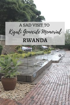 Kigali was at the centre of Rwandan Genocide. I knew I was there for one day, so had to visit Kigali Kigali Genocide Memorial to learn more about it.