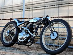 The 'Material Woman' Yamaha SR125 by Ask Motorcycles in Japan