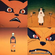 Omfg I can't get over how cute little kurama is ❤️