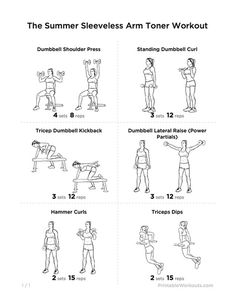 dumbbells workout for arms