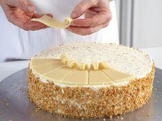 Marzipan-Torte  Step bei step