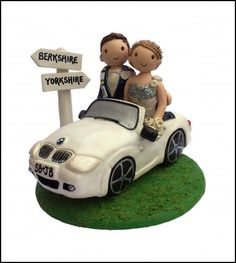 Wedding Cake Car toppers