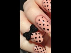 plasmaspeedo toot for a über twee nail art look with polka dots & bows.