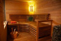 Saunan valaisin Saunan sisustus ja valaistus Haku, Spa, Loft, Saunas, Furniture, Google, Home Decor, Decoration Home, Room Decor