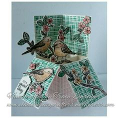 """Stampin up """"Best birds"""" by Tracy Lawrence independent stampin up demonstrator"""