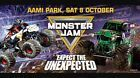 #Ticket  MELB Monster Jam Tickets X1 Sat Oct 8 includes All access Pit party With Stars #Australia