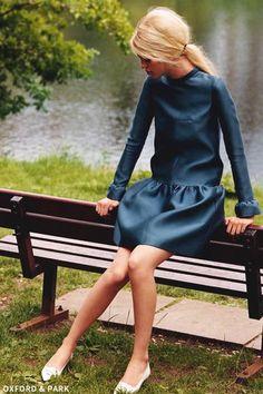 Louis Vuitton drop waisted dress