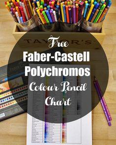 Faber-Castell Colour Pencil Chart