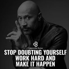 Business Motivation - Don't let self-doubt creep in and rob you of the Lifestyle that you deserve. There are enough naysayers out there. But the one with the most power is the one looking back at you in the mirror! Rock Quotes, Quotes To Live By, Me Quotes, Motivational Quotes, Inspirational Quotes, Qoutes, Business Motivation, Business Quotes, Fitness Motivation