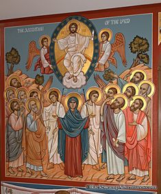 A couple of years ago, St. George's Coptic Orthodox Church had a festival, and they gave a tour of the sanctuary. Religious Icons, Religious Art, Hope Beel, Christ, St Georges Day, Religious Paintings, Orthodox Icons, Pictures To Draw, Byzantine