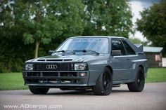 I'm absolutely in love with this short wheelbase coupe quattro