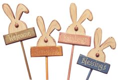 Bunny Yard Stakes - from Sisters Country Marketplace