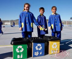 """In the Natural Science class and taking advantage of the project of the unit """"Matter, Materials and Mixtures"""", the students of 3rd #ISPprimaria learned the concept of recycling and the 3R: recycle, reuse and reduce. #enriquecimientocurricular #inmersionlingüistica"""