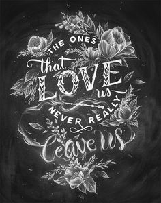Inspirational Chalk Lettering Designs & Wall Murals
