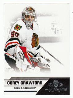 Corey Crawford # 17 - 2010-11 Panini All Goalies