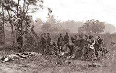 Battle of Antietam Burial Crew 1862 - One of the single bloodiest days in American history.