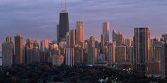 My favorite view of Chicago--reminds me of bus and train rides to work and school