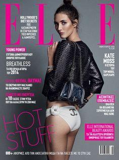 Elle Magazine Greece February 2014   Barbara Garcia